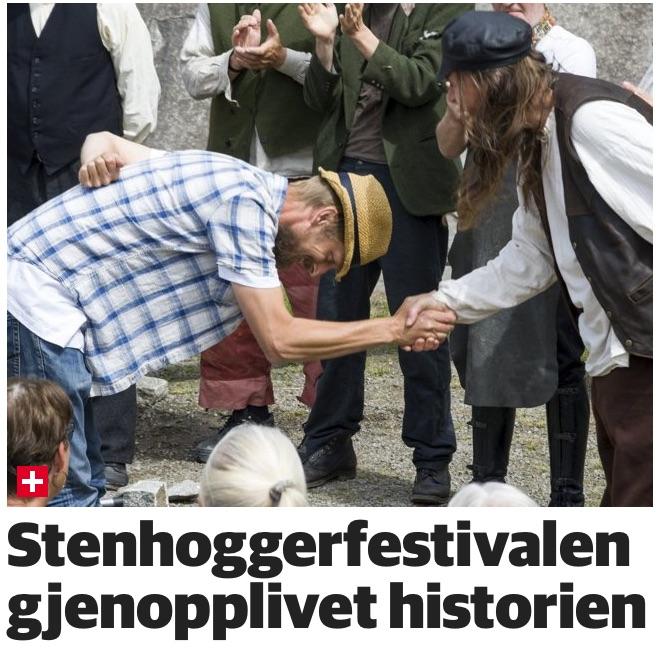Stenhoggerfestivalen gjenopplivet historien